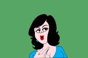 chammak challo cartoon and old men flirt
