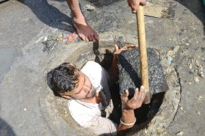 social labour deaths in gutter when government going to take action over it