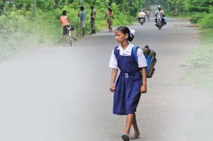 status of girls in villages