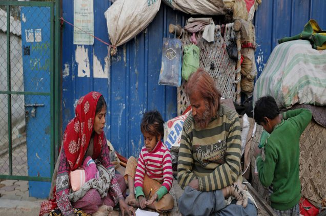poverty is new political agenda
