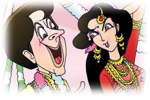 hindi story modern milan